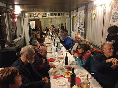 vogata della merla 2017 cena sociale