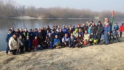 vogata della Merla 2017 foto di gruppo