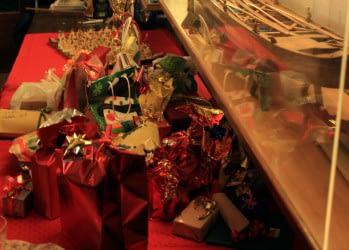 Cena e coro di Natale